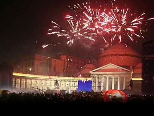 feste e cenoni di capodanno a Napoli