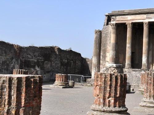 pompei storia eruzione foto