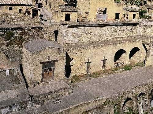 ercolano scavi storia museo foto